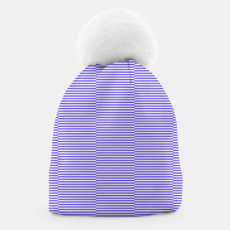 Thumbnail image of Blue strips Beanie, Live Heroes