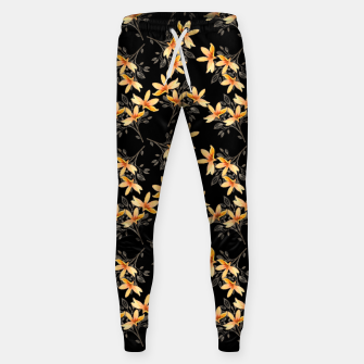 Thumbnail image of Dark Night of Flora Cotton sweatpants, Live Heroes