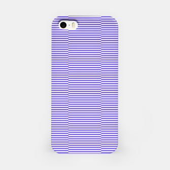 Thumbnail image of Blue strips iPhone Case, Live Heroes