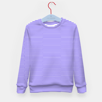 Thumbnail image of Blue strips Kid's sweater, Live Heroes