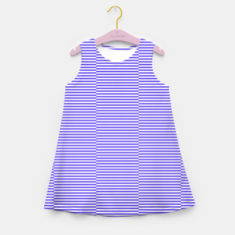 Thumbnail image of Blue strips Girl's summer dress, Live Heroes