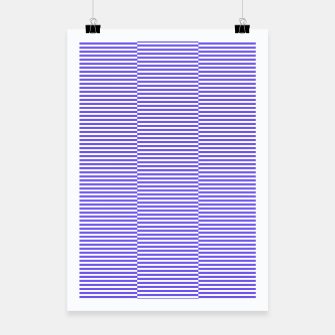 Thumbnail image of Blue strips Poster, Live Heroes
