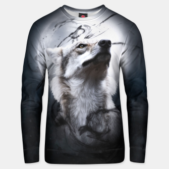 Thumbnail image of The Wolf and the Moon Baumwoll sweatshirt, Live Heroes