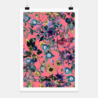 Surreal Floral Poster miniature