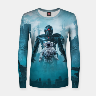 Miniatur Shadow of the Cyclops Woman cotton sweater, Live Heroes