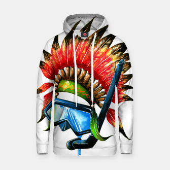 Thumbnail image of mask Cotton hoodie, Live Heroes