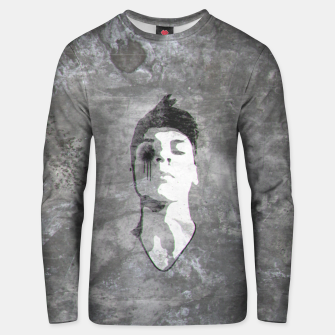 Thumbnail image of a clockwork vapor Cotton sweater, Live Heroes