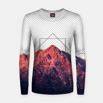 Thumbnail image of i'm transparent Woman cotton sweater, Live Heroes