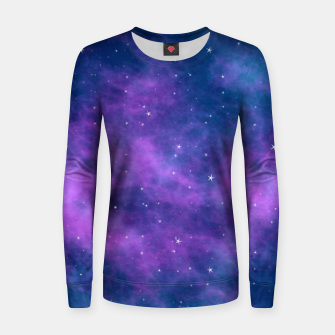Thumbnail image of Starry Night Skies - 02 Woman cotton sweater, Live Heroes