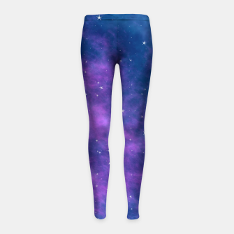 Thumbnail image of Starry Night Skies - 02 Girl's leggings, Live Heroes