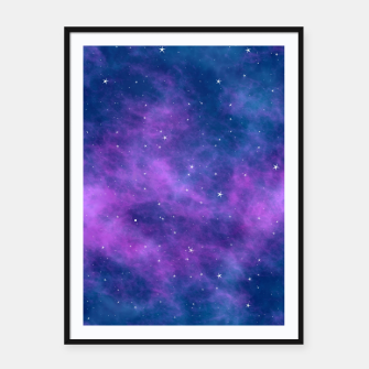 Thumbnail image of Starry Night Skies - 02 Framed poster, Live Heroes
