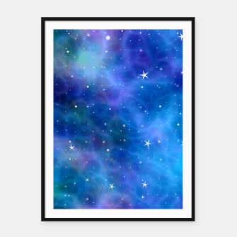 Thumbnail image of Starry Night Skies - 04 Framed poster, Live Heroes