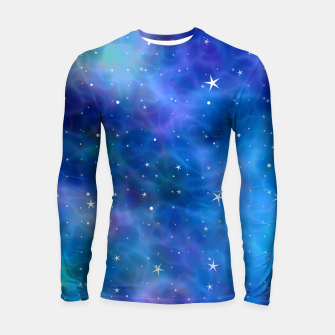 Thumbnail image of Starry Night Skies - 04 Longsleeve rashguard , Live Heroes