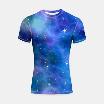 Thumbnail image of Starry Night Skies - 04 Shortsleeve rashguard, Live Heroes