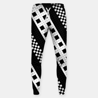 Thumbnail image of Subway Tile Flow Cotton sweatpants, Live Heroes