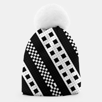 Thumbnail image of Subway Tile Flow Beanie, Live Heroes