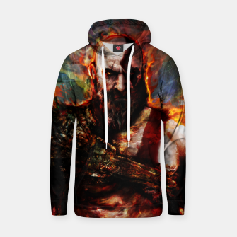 Thumbnail image of god of war Cotton hoodie, Live Heroes