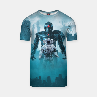 Miniature de image de Shadow of the Cyclops T-shirt, Live Heroes