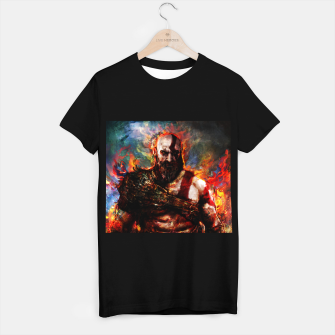 Thumbnail image of god of war T-shirt regular, Live Heroes