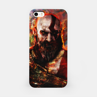 Miniatur god of war iPhone Case, Live Heroes