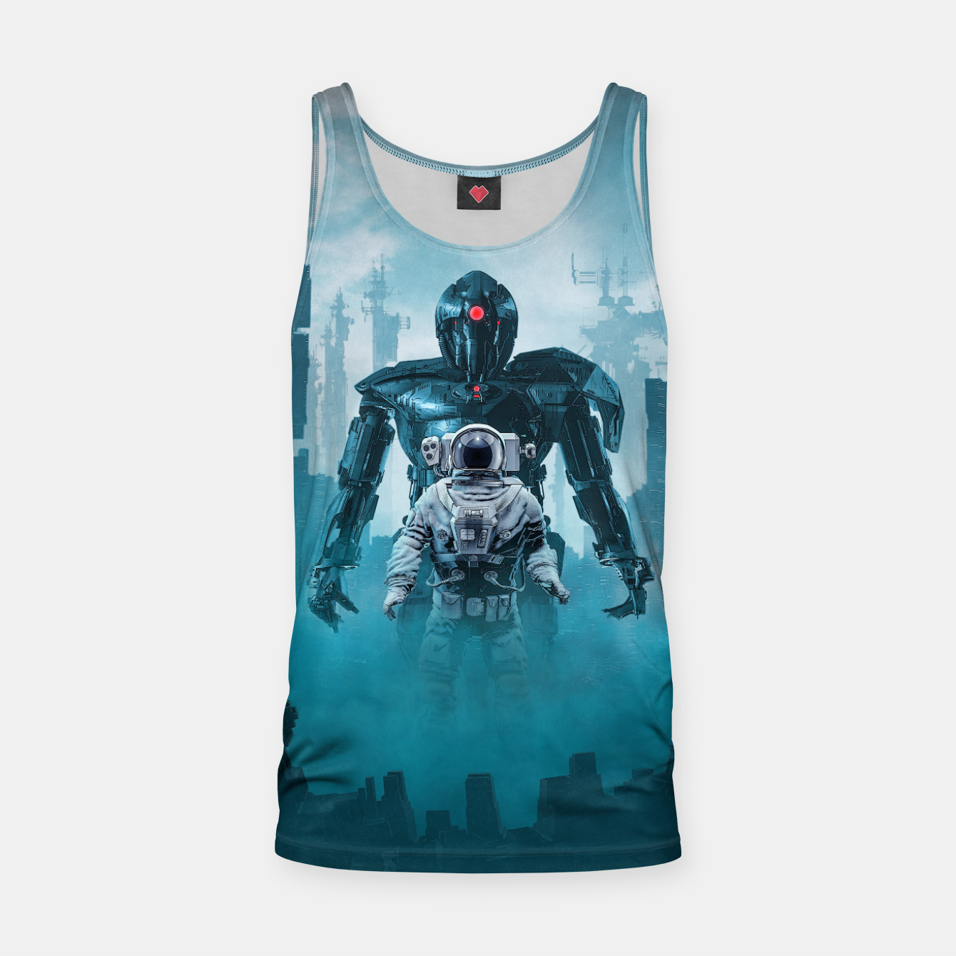 Foto Shadow of the Cyclops Tank Top - Live Heroes