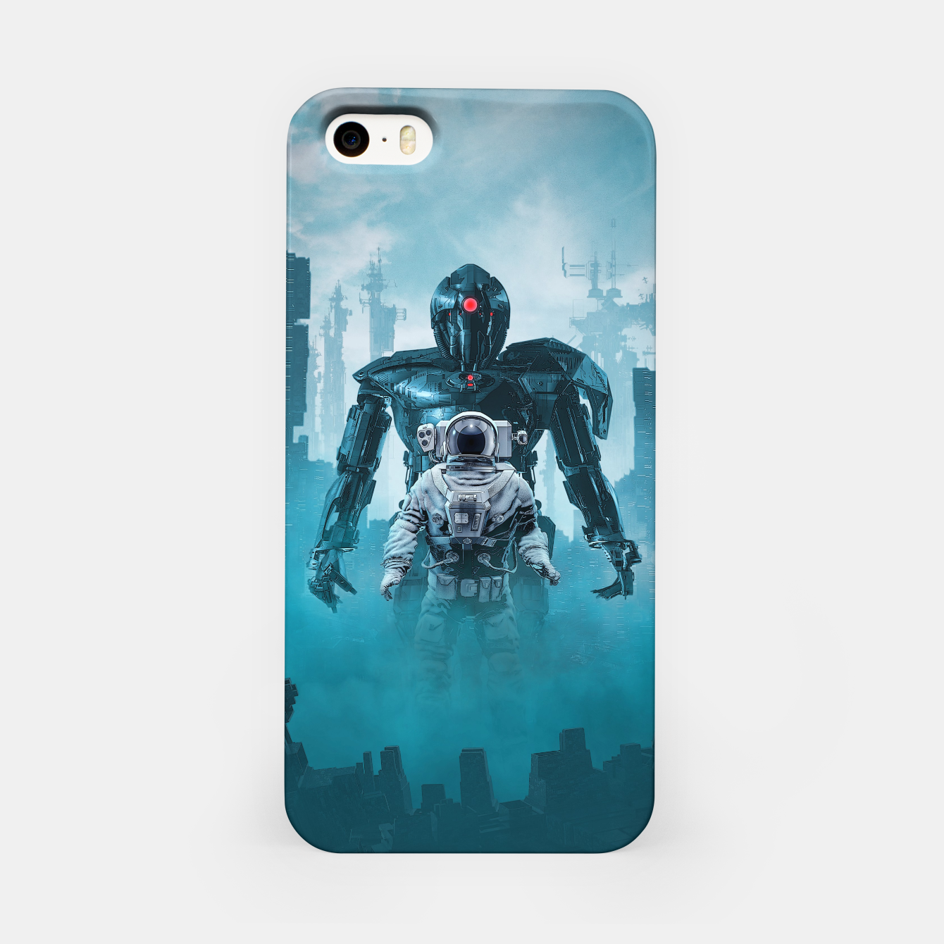 Foto Shadow of the Cyclops iPhone Case - Live Heroes