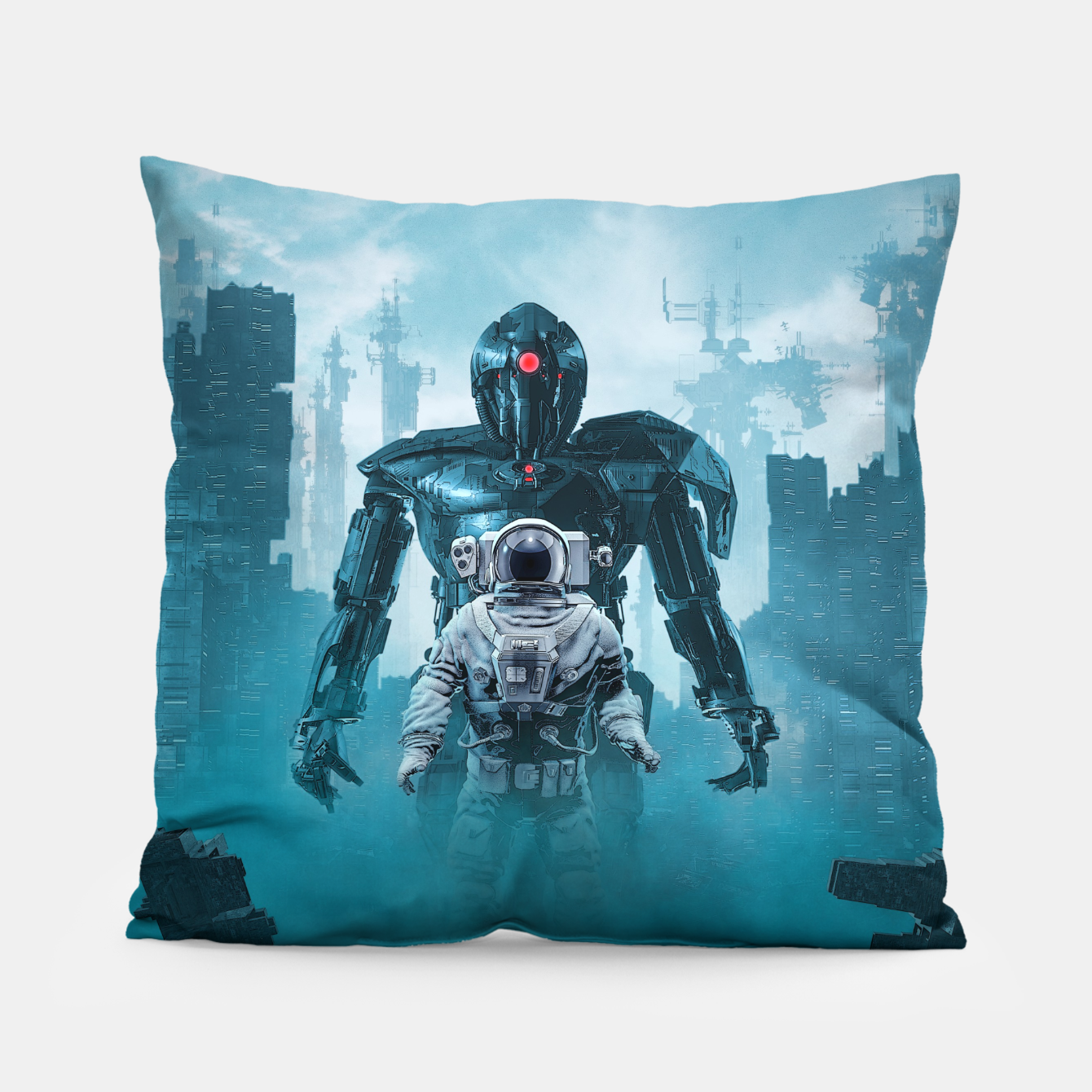 Foto Shadow of the Cyclops Pillow - Live Heroes