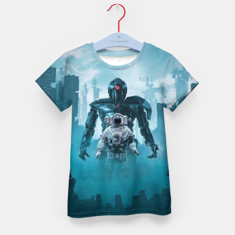 Thumbnail image of Shadow of the Cyclops Kid's t-shirt, Live Heroes