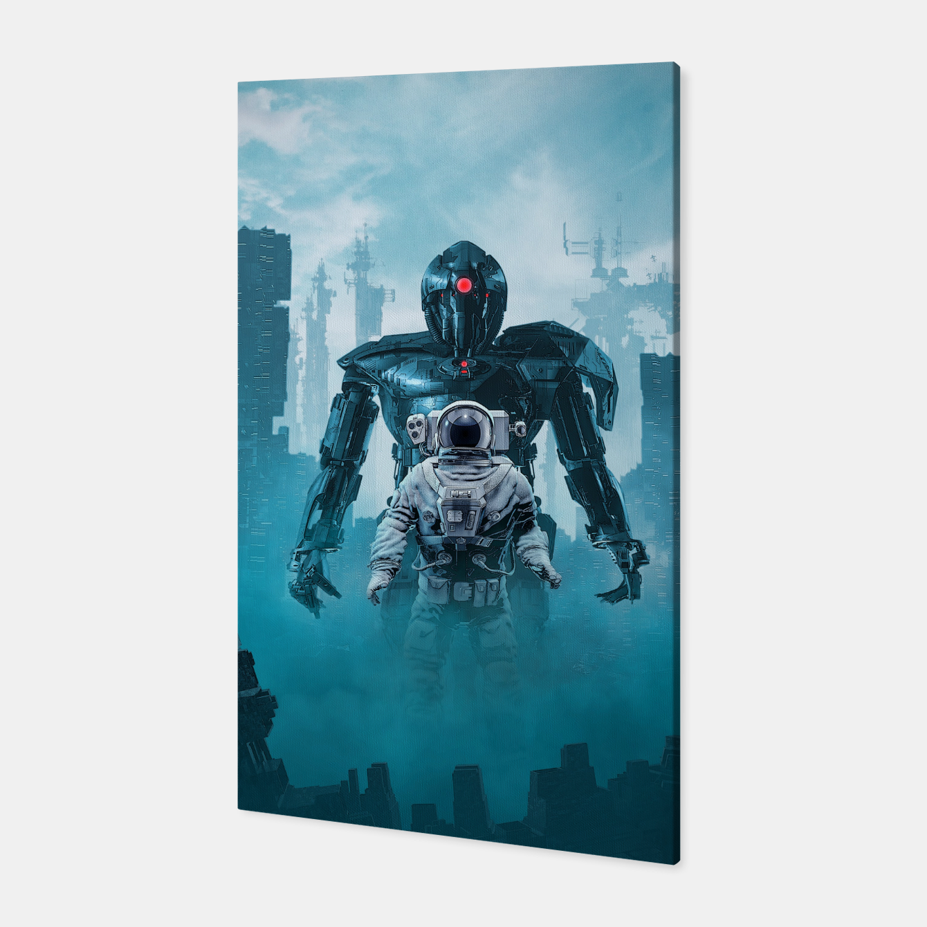 Foto Shadow of the Cyclops Canvas - Live Heroes