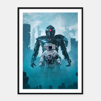 Thumbnail image of Shadow of the Cyclops Framed poster, Live Heroes