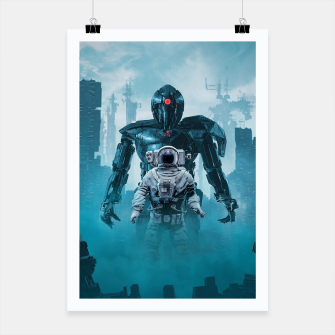 Thumbnail image of Shadow of the Cyclops Poster, Live Heroes