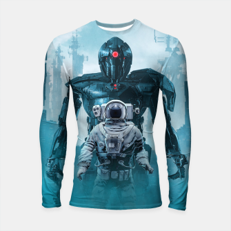Thumbnail image of Shadow of the Cyclops Longsleeve rashguard , Live Heroes
