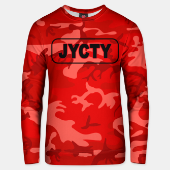 Thumbnail image of Red Camo Cotton sweater, Live Heroes