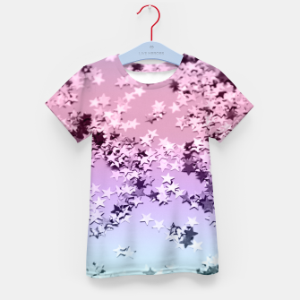 Thumbnail image of Unicorn Girls Glitter Stars #1 #shiny #pastel #decor #art  T-Shirt für kinder, Live Heroes