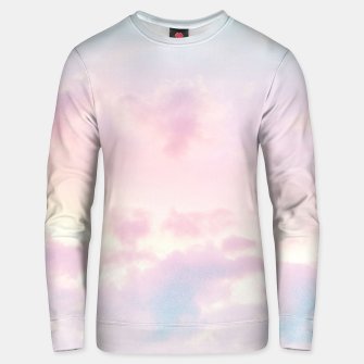 Thumbnail image of Unicorn Pastel Clouds #2 #decor #art Baumwoll sweatshirt, Live Heroes