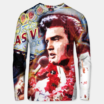Thumbnail image of Elvis in concert Cotton sweater, Live Heroes