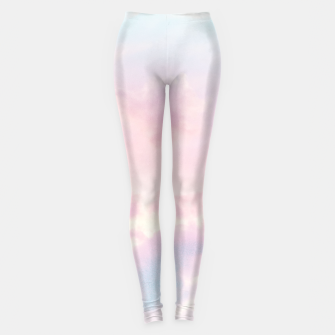 Thumbnail image of Unicorn Pastel Clouds #2 #decor #art Leggings, Live Heroes