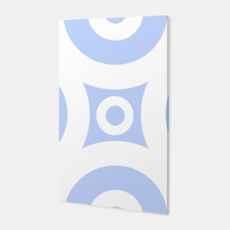 Miniature de image de Abstract pattern - blue and white. Canvas, Live Heroes