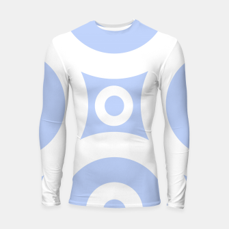 Miniature de image de Abstract pattern - blue and white. Longsleeve rashguard , Live Heroes
