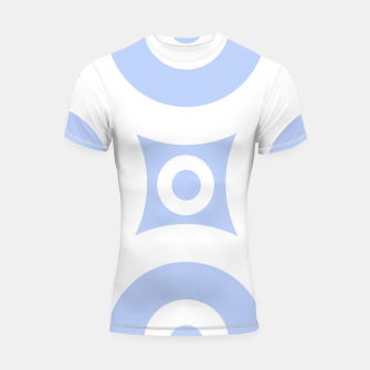 Miniature de image de Abstract pattern - blue and white. Shortsleeve rashguard, Live Heroes