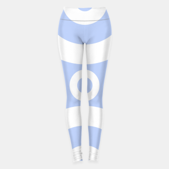 Miniature de image de Abstract pattern - blue and white. Leggings, Live Heroes