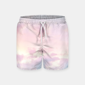 Thumbnail image of Unicorn Pastel Clouds #2 #decor #art Badeshorts, Live Heroes