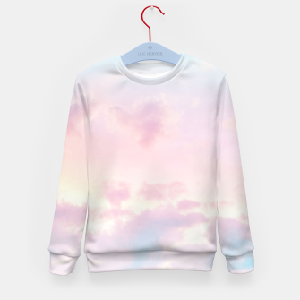Thumbnail image of Unicorn Pastel Clouds #2 #decor #art Kindersweatshirt, Live Heroes