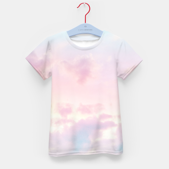 Thumbnail image of Unicorn Pastel Clouds #2 #decor #art T-Shirt für kinder, Live Heroes