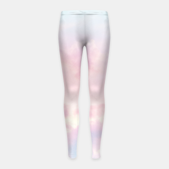 Thumbnail image of Unicorn Pastel Clouds #2 #decor #art Kinder-Leggins, Live Heroes