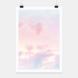 Thumbnail image of Unicorn Pastel Clouds #2 #decor #art Plakat, Live Heroes