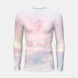 Thumbnail image of Unicorn Pastel Clouds #2 #decor #art Longsleeve rashguard, Live Heroes