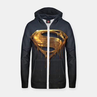 Thumbnail image of American Icon Cotton zip up hoodie, Live Heroes