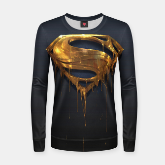 Thumbnail image of American Icon Woman cotton sweater, Live Heroes