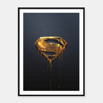 Thumbnail image of American Icon Framed poster, Live Heroes